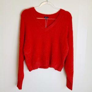 3 for $30! Splendid   Fuzzy V-Neck Dolman Sweater